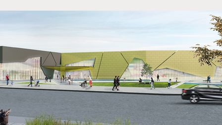 An artist's impression of the proposed development Picture: WEST SUFFOLK COUNCILS/PICK EVERARD
