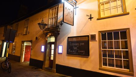 The One Bull pub in Bury St Edmunds. Picture: GREGG BROWN