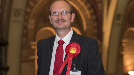 Sandy Martin was only selected to stand for Ipswich after the election had been called - but he scor