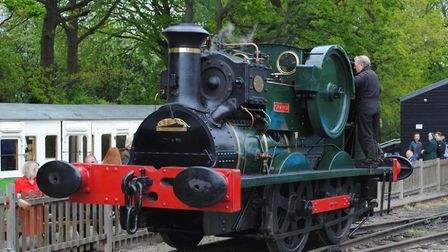 Sirapite, working on the Middy. Picture: MID SUFFOLK LIGHT RAILWAY