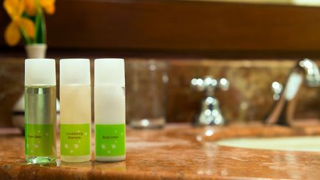 Mini toiletries will be gone from Holiday Inn bathrooms by 2021 Picture: GettyImages