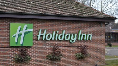The Holiday Inn in Colchester Picture: SARAH LUCY BROWN