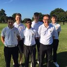 The Suffolk six who finished in fifth place in the England Golf boys' inter-county qualifier at Orse