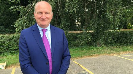 Nick Hulme, chief executive of Colchester and Ipswich hospitals Picture: GEMMA MITCHELL
