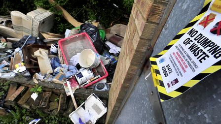 Instances of flytipping in West Suffolk have soared, with 200 reported in just three months. Picture