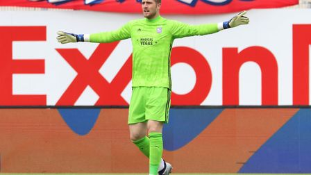 Ipswich Town new boy Tomas Holy is set to compete with Bartosz Bialkowski for the goalkeeper spot th