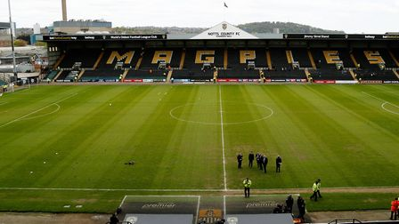 Meadow Lane, the home of Notts County, the oldest professional football club in the world. Picture: