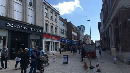 Ailing high streets across Suffolk were snubbed for regeneration cash from central government in the