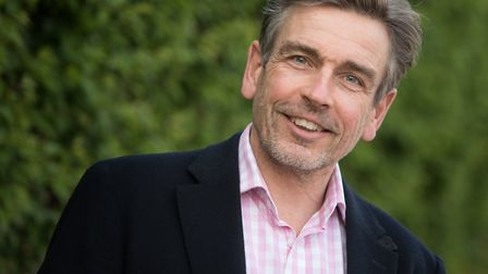 Dr Simon Rudland from Stowmarket, who has worked with Orbital Media to develop the new app MySpira t