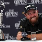 Shane Lowry with the famed Claret Jug after winning the Open on Sunday. Picture: PA SPORT
