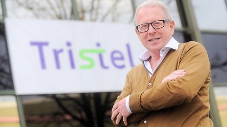 Tristel chief executive Paul Swinney is very pleased with the company's performance Picture: GREGG