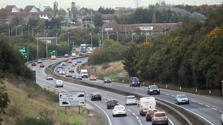 Copdock Mill roundabout needs a major re-design, but that won't be cheap! Picture: PHIL MORLEY