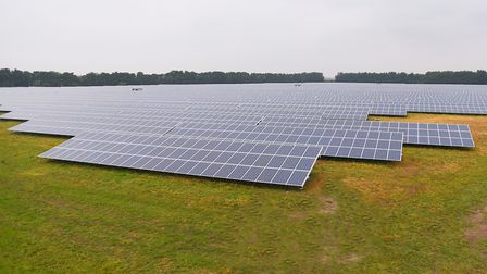 Toggam Solar Farm in Lakenheath. Plans for a new project in west Suffolk and Cambridgeshire have bee