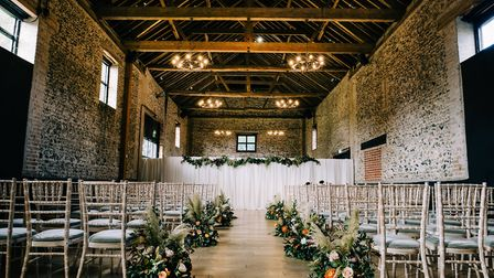Inside the Granary Barn at the Granary Estates Picture: LEE ALLISON PHOTOGRAPHY