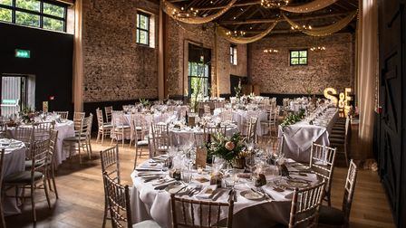 The Granary Estates wedding and events venue, which is based at Guy Taylor's farm near Newmarket Pi