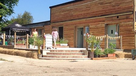 Birds & Bees Campsite, run by James and Emma Strachan, at the family farm at Rendham, near Framlingh