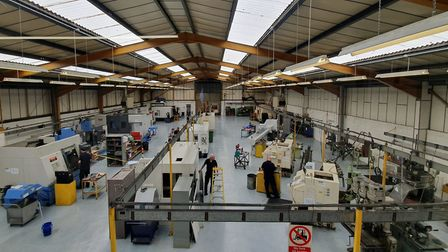 The new-look work shop at C. Rayment Picture: C. Rayment