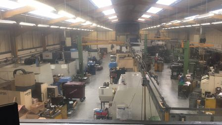How the C.Rayment workshop looked before Picture: C, Rayment