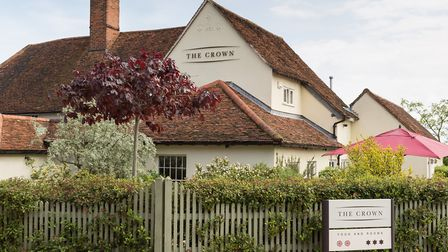 The Crown, in Stoke-by-Nayland, has been sold to The Chestnut Group. Photo: Erin Freeman.
