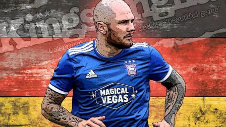 Ipswich Town striker James Norwood got off the mark during the Blues' trip to Germany.