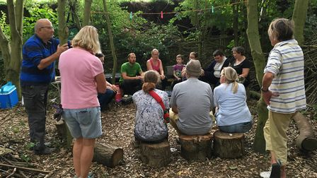 The Green Light Trust's Forest School was just one of the charities to benefit from a Suffolk Dog Da