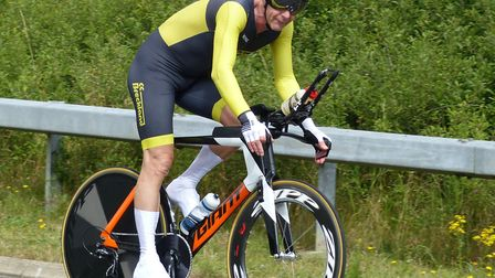 East District CA champions Dave Green (CC Breckland) from Thetford. Picture: FERGUS MUIR