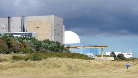 EDF hope to construct a new reactor at Sizewell power station near Leiston in Suffolk Picture: SU AN