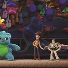 New faces Ducky and Bunny with old hands Woody and Buzz in Toy Story 4 Picture: PIXAR