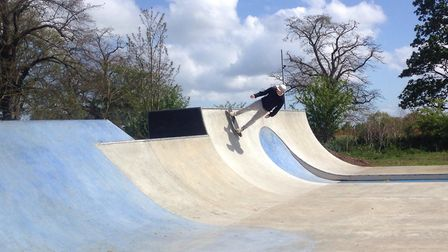 The skate parkwill be built in Crowley Park, Needham Market and is due to open in the summer of 2020