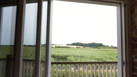 Butley Mill has been renovated by Sarah and Ken Baines. Here there are panoramic views of the estuar
