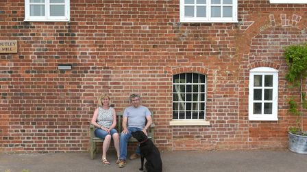 Ken and Sarah Baines, owners of Butley Mill Picture: SARAH LUCY BROWN