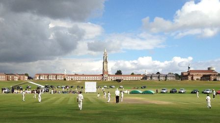 Action at the Minor Counties Cricket Festival at RHS. Photo: CONTRIBUTED