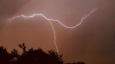 The storms followed the hottest day this year Picture; ALEX DUKES