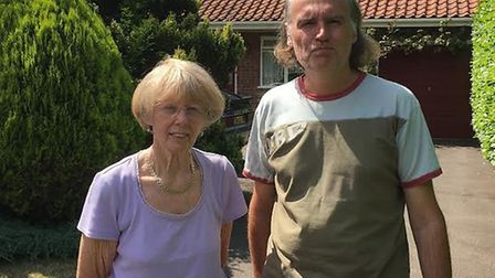 Janice and Andrew Nunn appeal for help to find missing Brian Picture: TOM POTTER