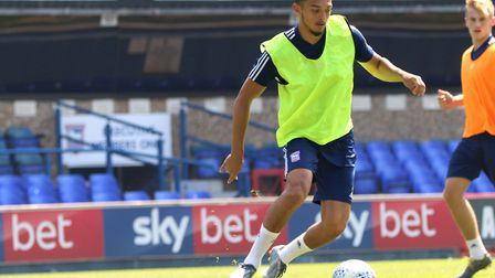 Norwich City have shown interest in Ipswich Town midfielder Andre Dozzell. Photo: Ross Halls