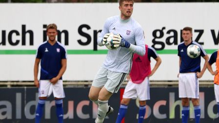 Summer signing Tomas Holy is battling Bartosz Bialkowski for the goalkeeper's spot. Photo: Ross Hall