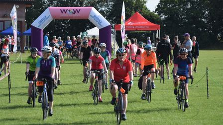 The Women on Wheels event in Sudbury was held on Sunday, July 21 Picture: ABBEYCROFT LEISURE