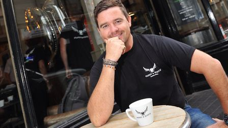 Scott Russell of Paddy & Scott's, which has just won a contract to supply Chestnut Group pubs and re