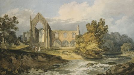 Bolton Abbey by J M W Turner (1775 � 1851), part of the Masters of the Golden Age exhibition curren