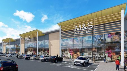 Churchmanor Estates Company has this been granted planning consent at Stane Retail Park, Stanway an