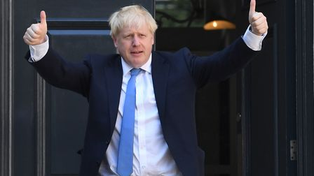 Boris Johnson took over as prime minister on Wednesday. Picture: STEFAN ROUSSEAU/PA