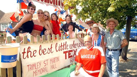 It was Felixstowe Carnival weekend when the current temperature record was set for Suffolk in August