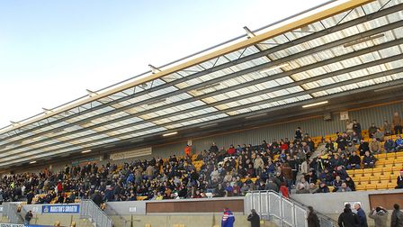 The Abbey Stadium, home of Cambridge United since 1932, although the club were known as Abbey United