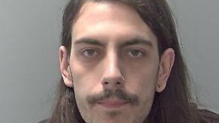 Andrew Kinsella, 28, of Abingdon Place, Haverhill, who has been jailed for 13 years. Picture: SUFFOL