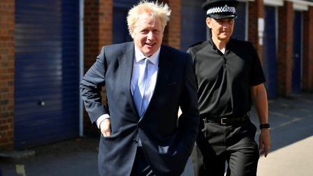 Essex will get a share of the 20,000 additional police officers promised by Boris Johnson Picture: