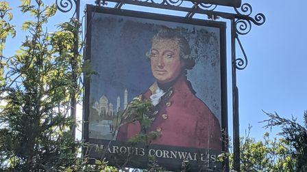 The Marquis Cornwallis in Chedburgh Picture: CMCH