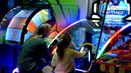 Enjoy playing on the amusements at Planet Laser