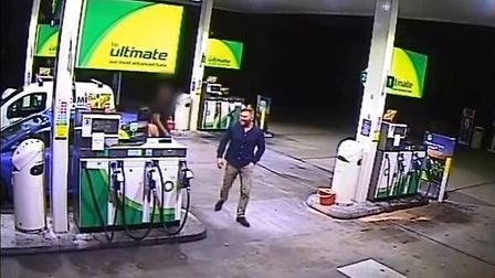 CCTV footage of John Pordage before he was shot and left for dead in Chelmsford Picture: ESSEX POLIC