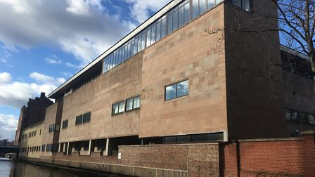 Nottingham Crown Court Picture: PETER WALSH