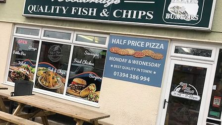 This chippy boasts a range of tempting deals